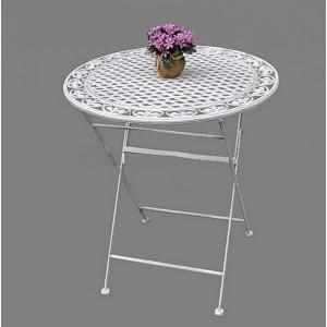 Кованый  садовый стол  76 см.