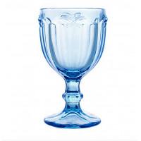 Бокалы для вина Бабочка 6 шт. голубые