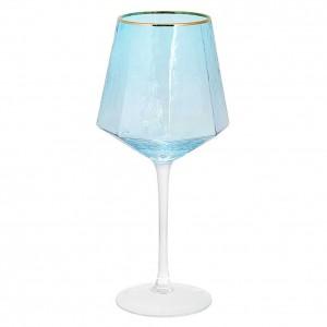 Бокалы для вина ICE 4 шт., бирюзовые