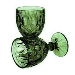 Бокалы из цветного стекла Royal 6шт. зелён.
