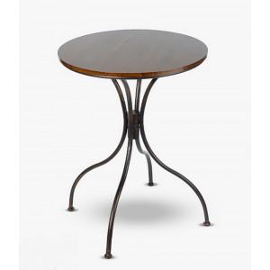 Круглый кофейный столик 78x60x60 см.