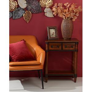 Консольный  столик Лофт 72х57х34 см., 2 ящ.