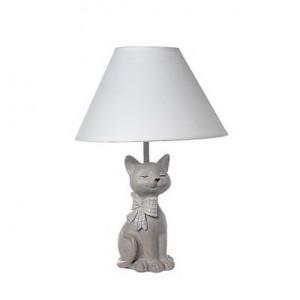 """Настольная лампа """"Кошка c бантом"""""""