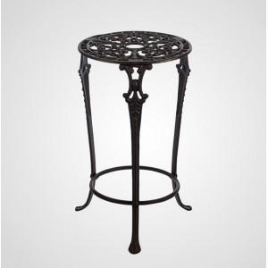 Ажурный чугунный столик-подставка, 52х31 см.