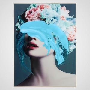 Интерьерное Панно Floral Lady 60x80 см.