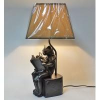 """Настольная лампа """"Читающий кот"""""""