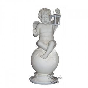 Фигура интерьерная  Ангел на шаре