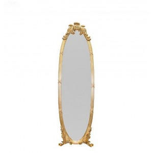 Напольное зеркало Барокко 170х50 см., золото