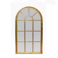 Зеркало-окно прованс 140х80 см.,золото