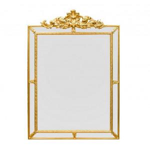 Настенное зеркало Барокко 113х80 см., золото