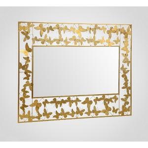 Зеркало-панно дизайнерское Бабочки 110х85 см.